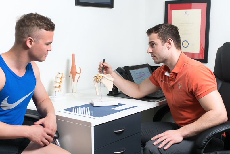 Physio sports injury rehab in Brighton and West Adelaide